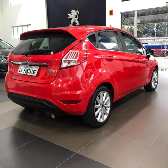 Ford Fiesta TITANIUM 1.6 AUT. 2018/2018 Automático