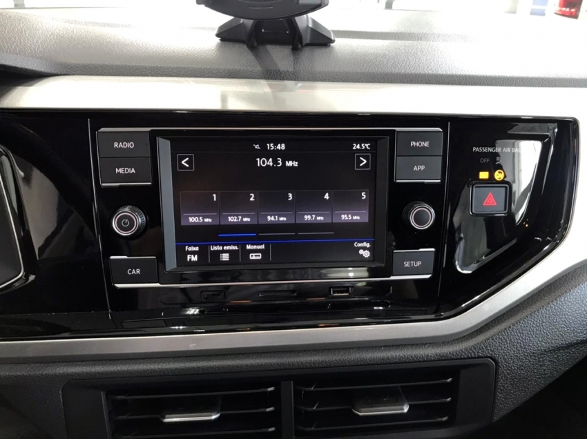 Volkswagen Polo Hatch HIGHLINE 200 TSI 1.0 12V FLEX AUT. 2018/2018 Automático